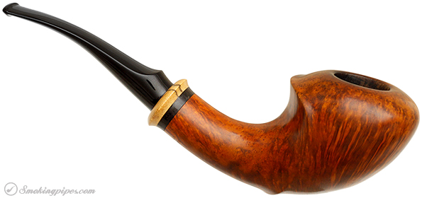 Danish Estate Tonni Nielson Smooth Horn with Spalted Maple (8)