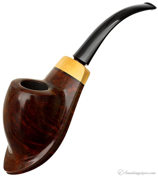 Danish Estate Tonni Nielsen Smooth Ramses with Boxwood (9) (Unsmoked)