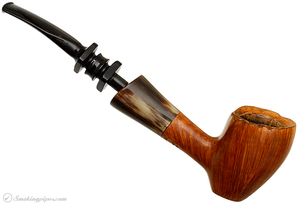 Danish Estate Preben Holm Hand Cut Smooth Freehand with Horn (5)
