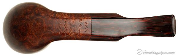 Danish Estate Kai Nielsen Smooth Bent Brandy (Straight Grain) (Old Briar) (VVVV) (Unsmoked)