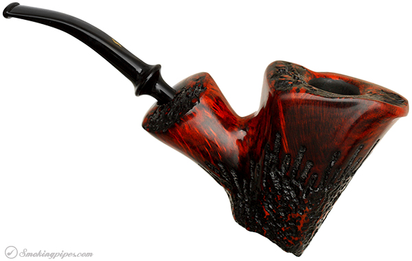 Danish Estate Nording Partially Rusticated Freehand with Plateau (Giant) (Unsmoked)