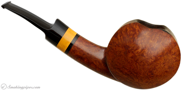 Danish Estate Peter Heeschen Smooth Blowfish with Boxwood (A)