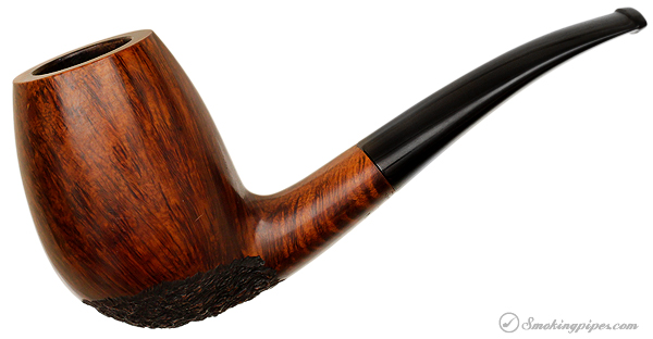 W.O. Larsen Handmade Partially Rusticated Bent Brandy