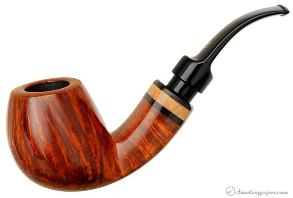 Danish Estate Karl Erik Smooth Bent Apple (Ekstravagant) (Unsmoked)
