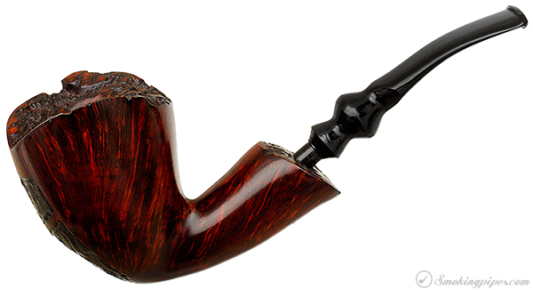 Danish Estate Johs Partially Rusticated Bent Dublin (Unsmoked)