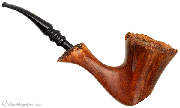 Danish Estate Karl Erik Spot Carved Cherrywood with Plateau (A)