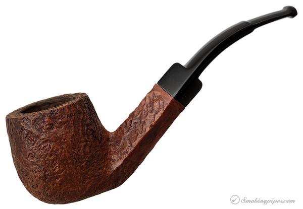 Charatan's Make Sandblasted Bent Pot (389DC) (Lane-Era) (1955-1979)