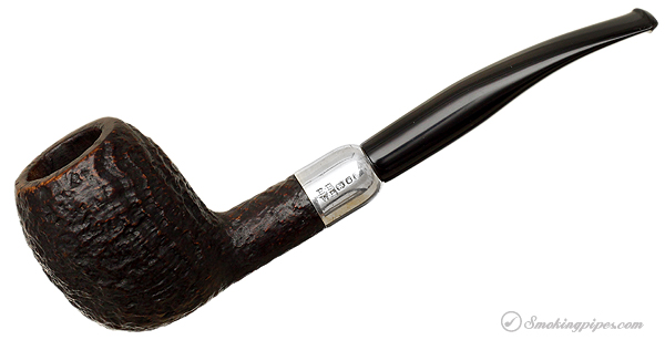 Barling Sandblasted Apple with Silver Mount (62279) (T.V.F.) (Transition) (1961) (Replacement Stem)