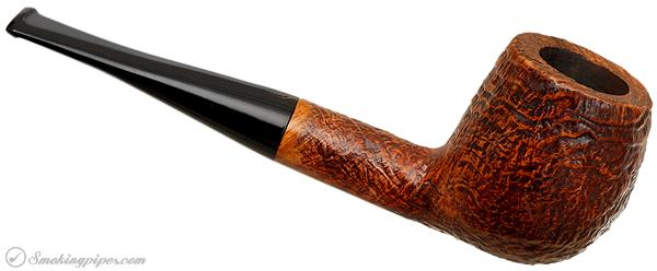 English Estate James Upshall Sandblasted Billiard (4) (9mm) (Unsmoked)