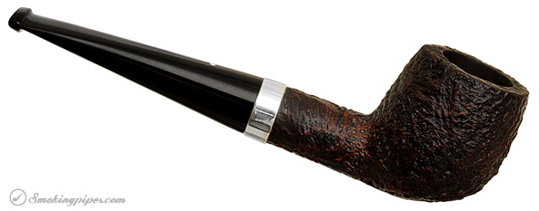 English Estate Dunhill Shell Briar with Silver Band (41011) (1980)