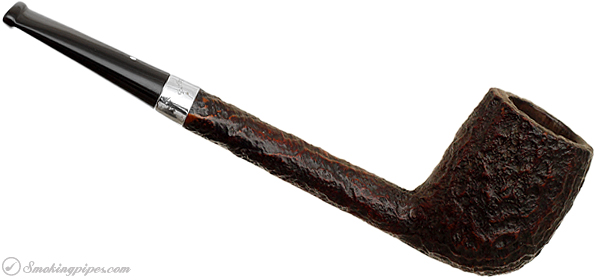 English Estate Dunhill Shell Briar (3109) with Aftermarket Silver Band (1985) (Replacement Tenon)