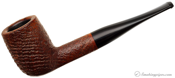Barling King Sandblasted Billiard (6105) (ExExEL) (T.V.F.) (Post-Transition) (Replacement Stem)