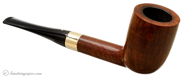 English Estate Dunhill Root Briar DR E (1968) (Aftermarket 14K Gold Band) (Replacement Stem)