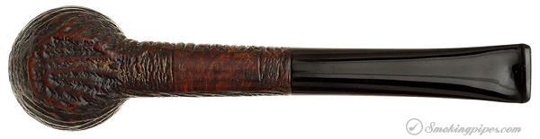 "English Estate Sasieni One Dot ""Rustic"" Billiard (86) (1920-1925)"