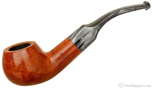 Stag Smooth Bent Apple (88S) (by Sasieni)