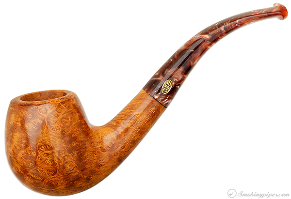 English Estate GBD Bronze Velvet Smooth Bent Apple (529) (Unsmoked)