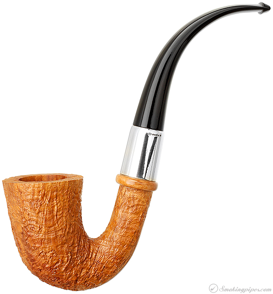 English Estate Dunhill Tanshell Quaint Calabash with Silver (5) (2003) (Unsmoked)