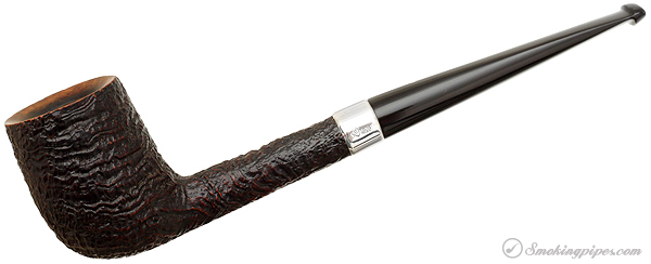 English Estate Dunhill Shell Briar with Silver Band (4110) (2007)