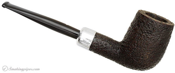 English Estate Dunhill Shell Briar with Silver Army Mount (6103) (1999)