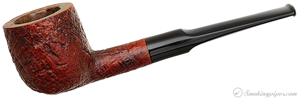 English Estate Dunhill Red Bark Pot (6) (R) (F/T) (4) (R/B) (1972) (Replacement Stem)