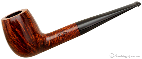 English Estate Dunhill Amber Flame Billiard (DR) (2 Flame) (2002) (Unsmoked)