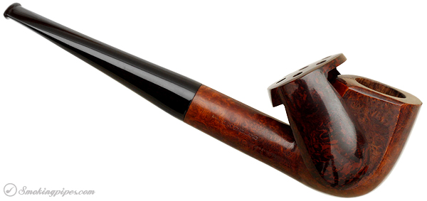 English Estate Cyclone De Luxe Smooth Billiard with Bakelite Windcap (for Iwan Ries) (17A)