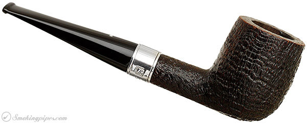 English Estate Dunhill Shell Briar with Hallmarked Millenium Band (4103) (2000)