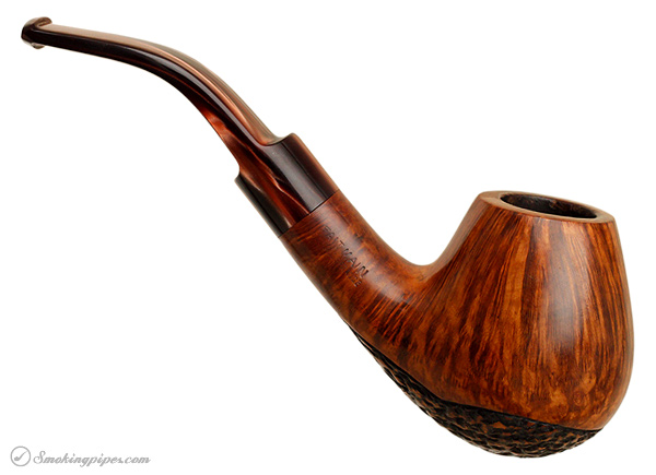 French Estate Butz-Choquin Maitre Pipier Partially Rusticated Bent Egg