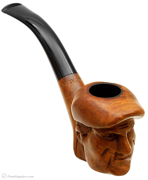 French Estate Alma Briar Man with Cap