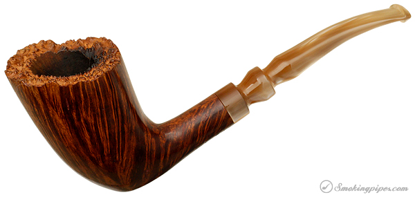 Pierre Morel Smooth Bent Dublin with Plateau (1) (Replacement Stem)