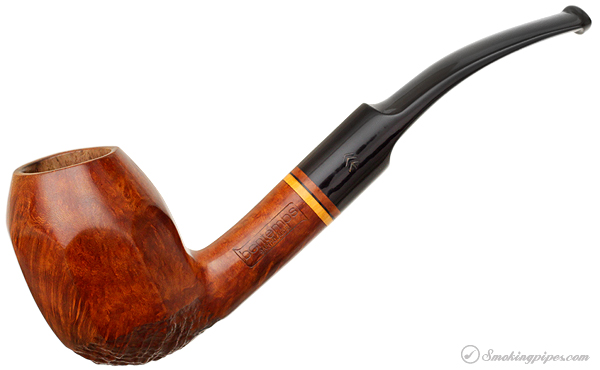 Bontemps Partially Sandblasted Paneled Bent Egg
