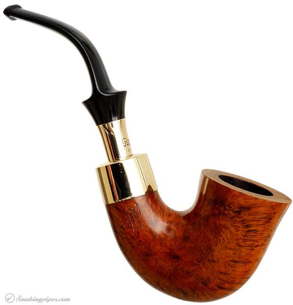 Irish Estate Peterson Gold Spigot (05S) (Fishtail) (Unsmoked)