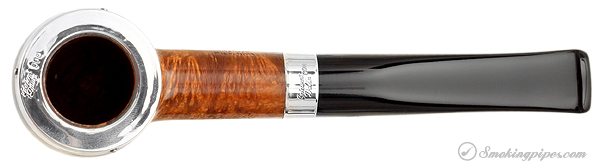 "Irish Estate Peterson ""Dublin"" with Sterling Silver Rim Cap and Band (X105) (9mm) (Fishtail) (2000) (Unsmoked)"
