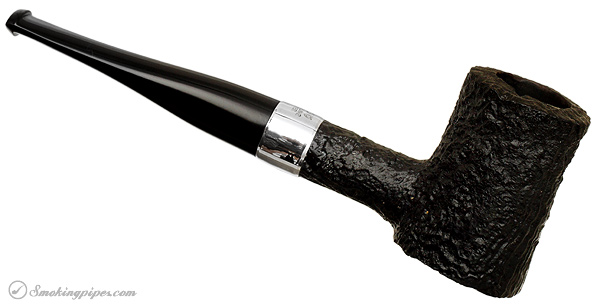 Irish Estate Peterson Mark Twain Sandblasted Poker with Silver Band (Fishtail) (2011)