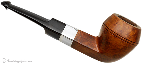 Irish Estate Peterson Shamrock Smooth with Nickel Band (X155) (A Peterson Product) (Pre-Rublic) (P-Lip)