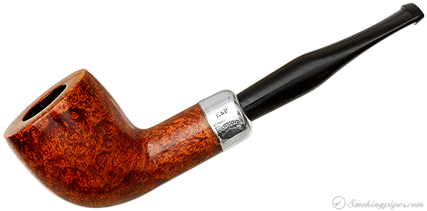 Peterson Smooth Cutty with Silver (Fishtail) (2003) (Unsmoked)