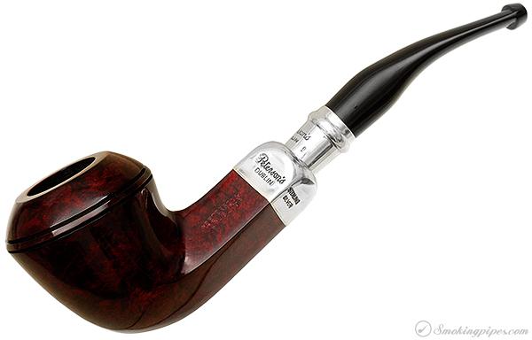 Irish Estate Peterson Red Silver Spigot (B5) (Fishtail) (2004) (Unsmoked)