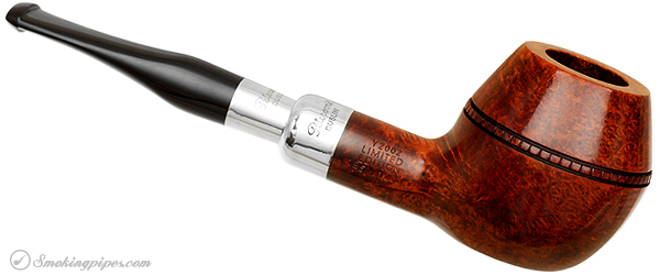 Irish Estate Peterson Pipe of the Year 2002 (126/1000) (Fishtail) (Unsmoked)