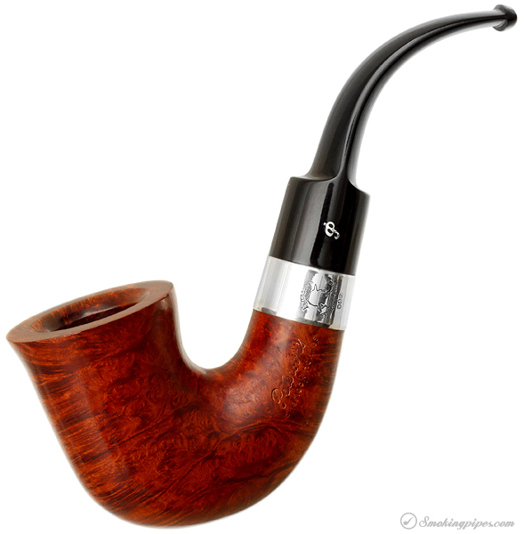 Irish Estate Peterson Sherlock Holmes Smooth Bent Dublin (Fishtail) (1990)