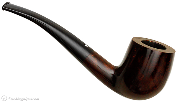 German Estate Bentley Pipe Master Smooth Bent Billiard (5-9.05) (9mm) (Unsmoked)