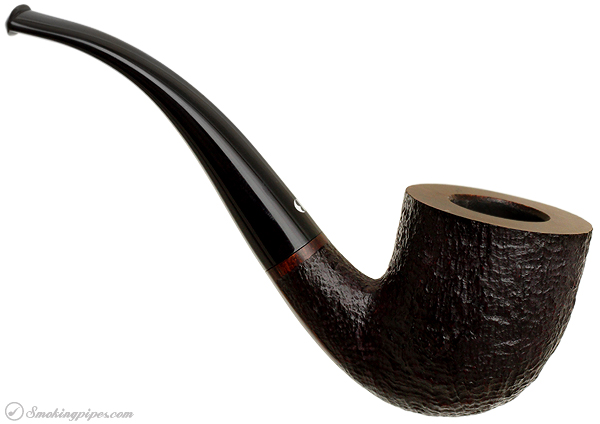 German Estate Bentley Pipe Master Sandblasted Bent Dublin (4-9.06) (9mm) (Unsmoked)