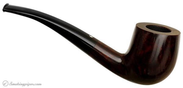 German Estate Bentley Pipe Master Smooth Bent Billiard (5-0.05) (Unsmoked)