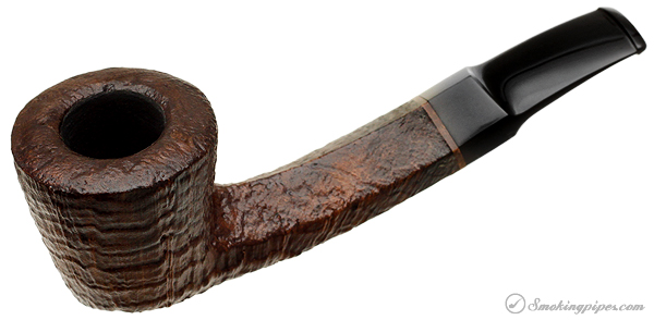 German Estate Axel Glasner Sandblasted Bent Dublin (Unsmoked)