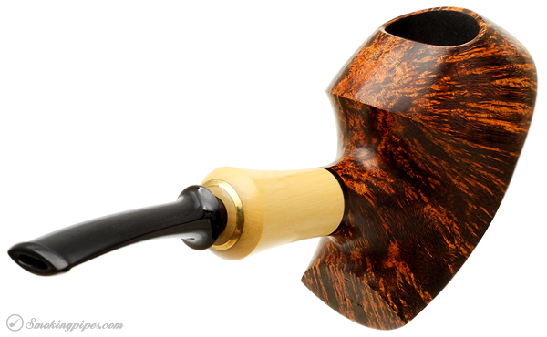 German Estate Ken Dederichs Smooth Panel Freehand with Boxwood Ferrule (Unsmoked)