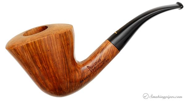 Italian Estate Pipa Croci Smooth Bent Dublin (True) (1)