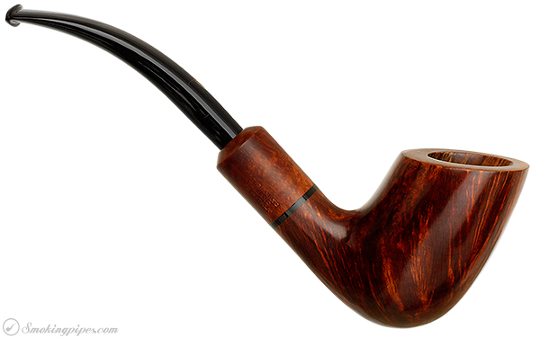 Italian Estate Capitello Jonico Smooth Bent Billiard (Two Column)