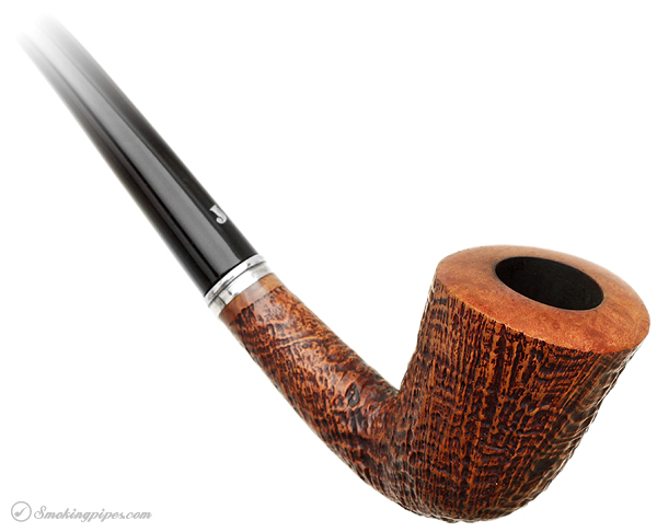 Italian Estate Ser Jacopo Sandblasted Bent Dublin Churchwarden (S2)