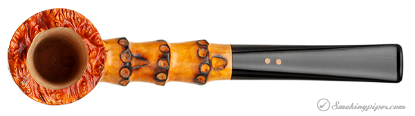 Italian Estate Radice Rind Billiard with Faux Bamboo (2013)(Unsmoked)