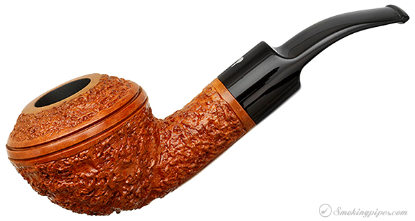 Italian Estate Gepetto Rusticated Bent Rhodesian (410) (Unsmoked)