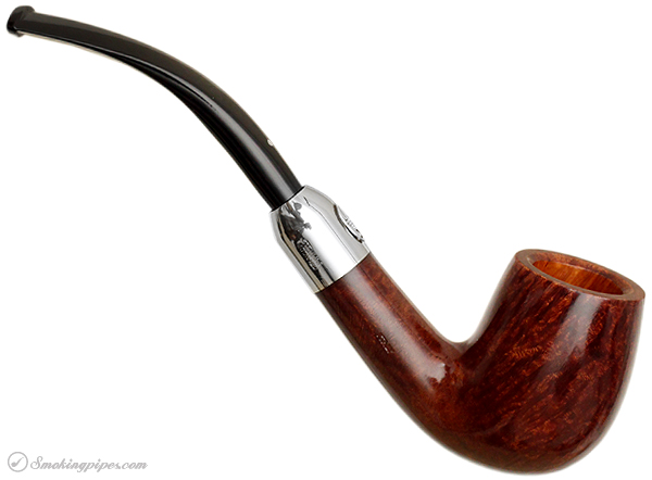 Italian Estate Savinelli 130th Anniversary Limited Edition Brown Smooth with Presentation Box and Stand (Unsmoked)